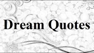 10 Famous Dream Quotes|Sayings_10 Quotations about Dreams|Thoughts